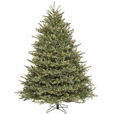 """108"""" Green Fir Tree Artificial Christmas Tree with 1050 LED Clear/White Light"""