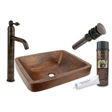 Skirted Vessel Bathroom Sink