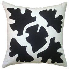 Hand Printed Shade Linen Throw Pillow