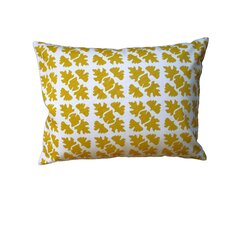 Shade Check Cotton Throw Pillow