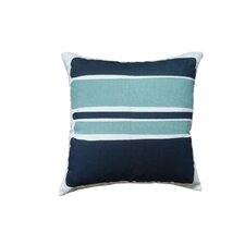 Block Linen Throw Pillow
