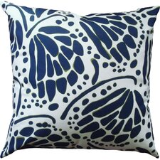 Wings Cotton Throw Pillow