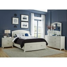 Storage Platform Customizable Bedroom Set