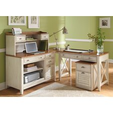 5-Piece Standard Desk Office Suite