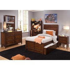 Chelsea Square Youth Bedroom Panel Headboard in Burnished Tobacco