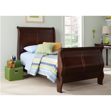 Carriage Court Sleigh Bed