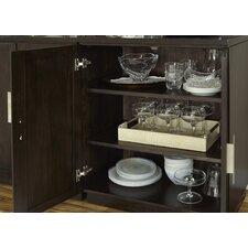 Bunching Shelf Curio Cabinet