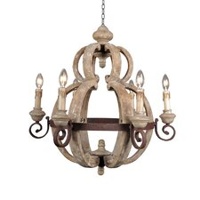 Mallow 6 Light Candle Chandelier