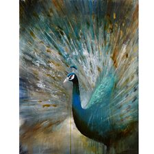 Peacock Prowess Original Painting