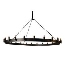 Farrington 24 Light Candle Chandelier