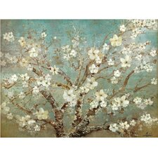 Almond Joy Painting Print on Wrapped Canvas