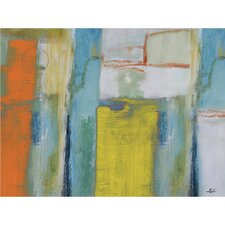 Tangerine Dream Painting on Wrapped Canvas