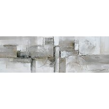 Contemporary & Abstract Art Serenity Original Painting on Wrapped Canvas