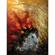 Contemporary & Abstract Art Stormy Weather Original Painting on Wrapped Canvas