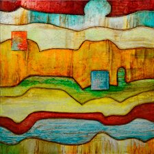 Revealed Art Color and Line V Original Painting on Wrapped Canvas