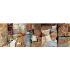 Revealed Artwork Contrast And Compare II Painting Print on Wrapped Canvas