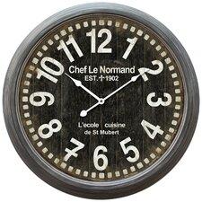 "Oversized 23.75"" Wall Clock"