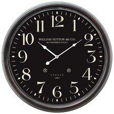 "Oversized 24.5"" Midnight Wall Clock"