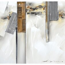 Revealed Artwork Fractured I Original Painting on Wrapped Canvas
