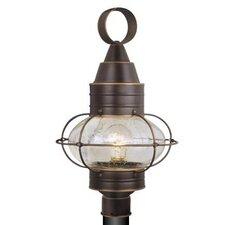 "Nautical One Light 13"" Post Lantern"