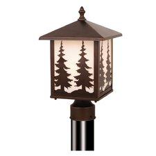 Yosemite 1 Light Outdoor Post Light