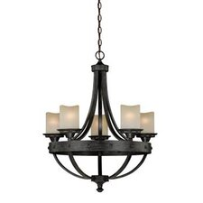 Halifax 5 Light Candle Chandelier