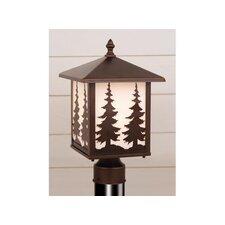 Yellowstone Tree 1 Light Outdoor Post Light