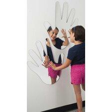 "24"" H x 22"" W Big Hands Mirror"