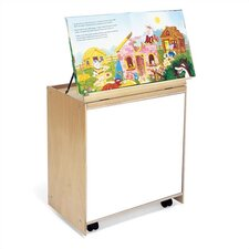"26"" Big Book Storage Teaching Cart"