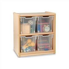 Jumbo 2 Compartment Cubby