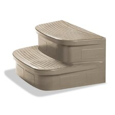 LifeSmart Spa Sandstone Straight Steps for the Simplicity Spa