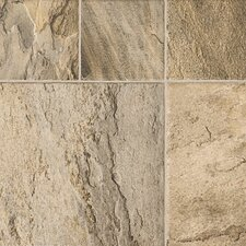 "Revolutions™ Tile 16"" x 51"" x 8mm Mojave Slate Laminate in Sand Dune"