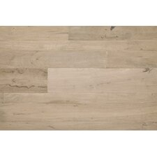 "Antigua 7"" Solid Shiranga Hardwood Flooring in Pumice"