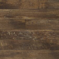 "Restoration™ 6"" x 51"" x 12mm Oak Laminate in Charcoal"