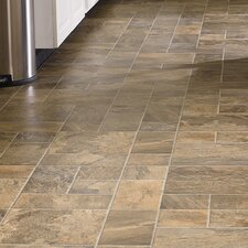 "Revolutions™ Tile 16"" x 51"" x 8mm Mojave Slate Laminate in Tumbleweed"