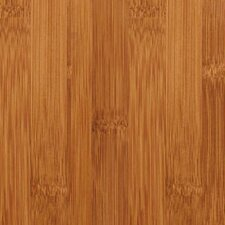 "Studio Floating Floor 7-11/16"" Bamboo Hardwood Flooring in Caramelized Flat"