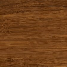 """Synergy Floating Floor 7-11/16"""" Solid Bamboo Flooring in Chestnut"""