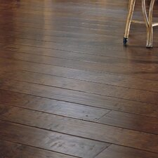 "Dellamano 6-4/5"" Engineered Maple Hardwood Flooring in Café Nero"