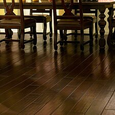 "Casitablanca 5"" Engineered Kupay Hardwood Flooring in Hammered Clove"