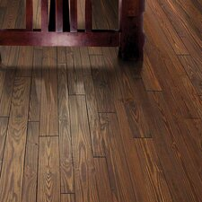 Elements Random Width Solid Pine Hardwood Flooring in Clay