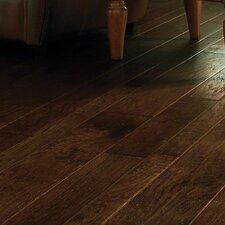 Lone Star Random Width Engineered Hickory Hardwood Flooring in Rawhide