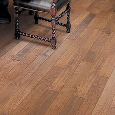 "Hickory Forge 5"" Engineered Hickory Hardwood Flooring in Branding Iron"