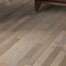 "Bryson II 4S Plank 3-1/4"" Solid Oak Hardwood Flooring in Weathered"
