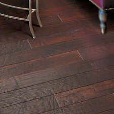 "Hickory Forge 5"" Engineered Hickory Hardwood Flooring in Ringing Anville"