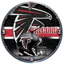 "NFL 18"" High Def Wall Clock"