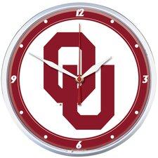 "Collegiate 12.75"" NCAA Wall Clock"