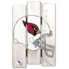NFL Graphic Art on Plaque