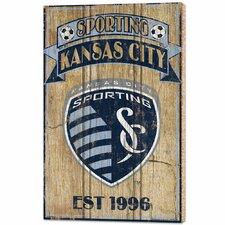 MLS Sporting KC Graphic Art