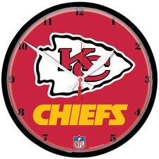 """NFL 12.75"""" Wall Clock"""