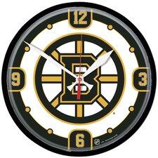 """NHL 12.75"""" Wall Clock"""